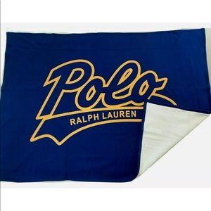 NWT Polo Throw Blanket